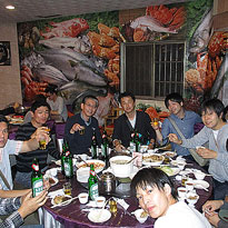 社員旅行(台湾)での楽しい時間