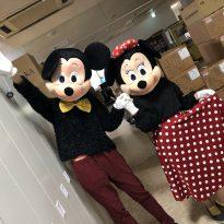 新年会での出し物の衣装合わせ中の1枚です!<br /> 普段できないミニーになりきって、<br /> とても楽しかったです☆