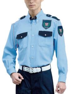 長袖シャツ(警備)